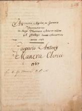 Cover of Aritmetices, algebrae ac geometriae institutione