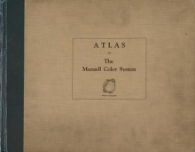 """Cover of """"Atlas of the Munsell color system"""""""