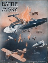 Cover of Battle in the sky