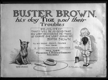 Cover of Buster Brown, his dog Tige and their troubles