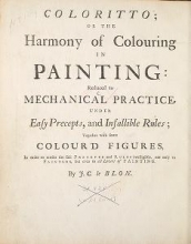 Cover of Coloritto, or, The harmony of colouring in painting  reduced to mechanical practice, under easy precepts and infallible rules, together with some colo