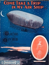 Cover of Come, take a trip in my air ship