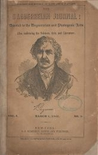 Cover of The Daguerreian journal