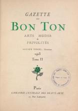 Cover of Gazette du bon ton