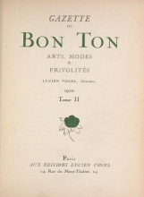 Cover of Gazette du bon ton