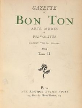 Cover of- Gazette du bon ton