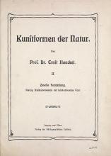 Cover of Kunstformen der Natur