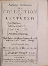 Cover of Lectiones Cutlerianae, or A collection of lectures, physical, mechanical, geographical & astronomical