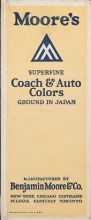 Cover of Moore's superfine coach & auto colors  ground in Japan