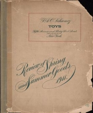 Cover of Review of spring and summer goods, 1911