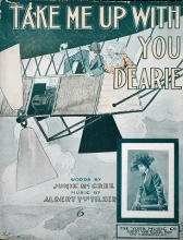 Cover of Take me up with you dearie