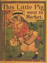 Cover of This little pig went to market