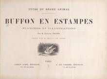 Cover of Types du règne animal. Buffon en estampes