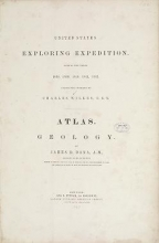 United States Exploring Expedition. During the year 1838, 1839, 1840, 1841, 1842. v.10 Atlas (1849)