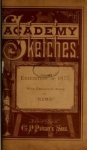Cover of Academy sketches