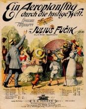 Cover of Ein Aeroplanflug durch die lustige Welt