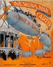 Cover of Aéroplane captif