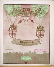 Cover of The airships parade