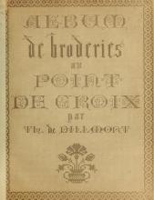Cover of Album de broderies au point de croix
