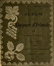 Cover of Album de guipure d'Irlande