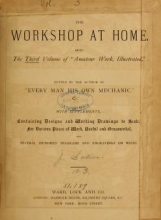 Cover of Amateur work, illustrated