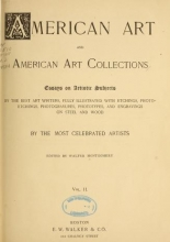 Cover of American art and American art collections