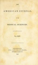 Cover of The American journal of the medical sciences v.24 (1839)