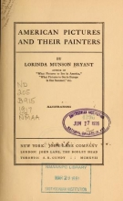 Cover of American pictures and their painters