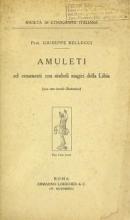 Cover of Amuleti ed ornamenti con simboli magici della Libia