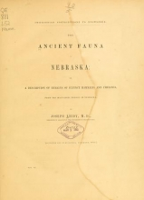 Cover of The ancient fauna of Nebraska