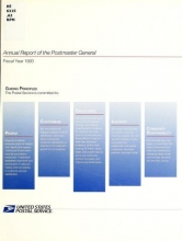 Cover of Annual report of the Postmaster General 1993