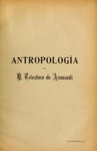 Cover of Antropología y etnología del país Vasco-Navarro