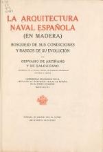 Cover of La arquitectura naval espanlįla