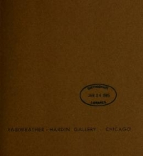 Cover of Art in Chicago business