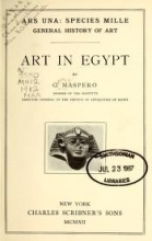 Cover of Art in Egypt