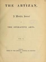 Cover of The Artizan