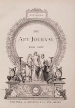 Cover of The art journal for 1876