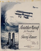 Cover of Aviatiker-Marsch