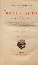 Cover of Les beaux-arts décoratifs v. 2