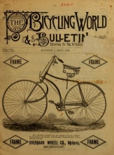 "Cover of ""The Bicycling world & L.A.W. bulletin"""