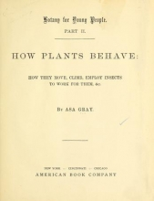 Cover of Botany for young people