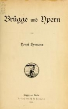 Cover of Brügge und Ypern