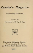 Cover of Cassier's magazine