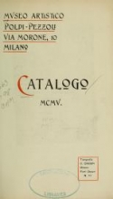 Cover of Catalogo, MCMV