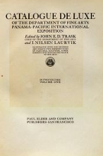 Cover of Catalogue de luxe of the Department of fine arts, Panama-Pacific international exposition v.1