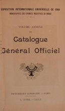 Cover of Catalogue gel®el²al officiel