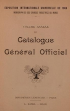 Cover of Catalogue gel®el²al officiel t. 15 annexe