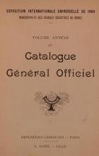Cover of Catalogue gel®el²al officiel t. 15 annexe
