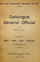 Cover of Catalogue gel®el²al officiel t. 10