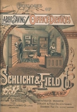 Cover of Catalogue of labor saving office devices
